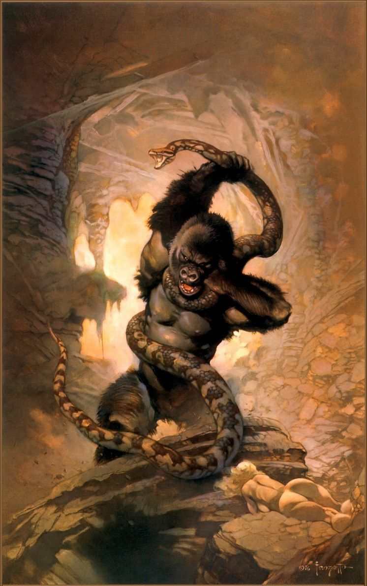 Frank Frazetta The Eighth Wonder
