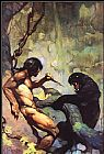 Frank Frazetta Black Panther painting