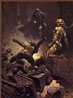 Frank Frazetta Black Star painting