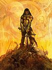 Frank Frazetta Conan the Adventurer painting