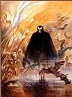 Frank Frazetta Count Dracula painting