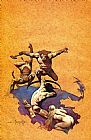 Frank Frazetta Land of Terror painting