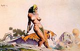 Frank Frazetta Lost City painting