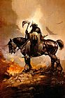 Frank Frazetta The Death Dealer I painting