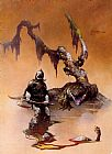 Frank Frazetta The Death Dealer IV painting