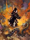 Frank Frazetta The Death Dealer VI painting