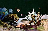 Frank Frazetta Thuvia - Maid of Mars painting