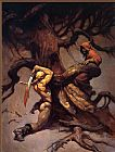 Frank Frazetta Tree of Death painting