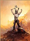 Frank Frazetta Victorious painting