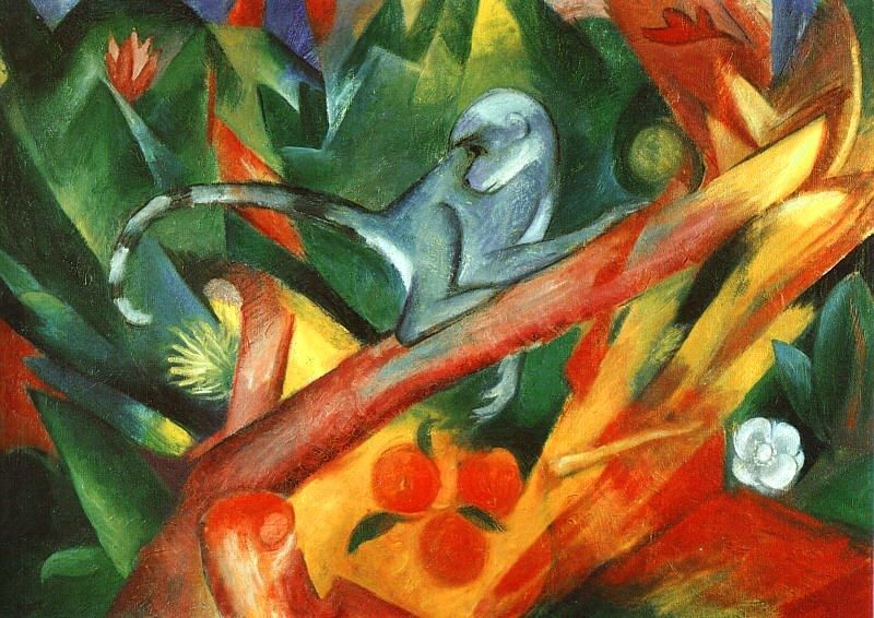 Franz Marc The Monkey