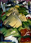 Franz Marc Alpenszene painting