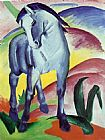 a grey horse Canvas Prints - Blue Horse