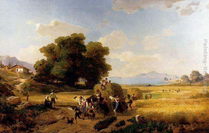 Franz Richard Unterberger The Last Day Of The Harvest