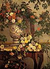 Frederic Bazille Flowers painting