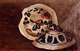 Frederic Bazille Soup Bowl Covers painting