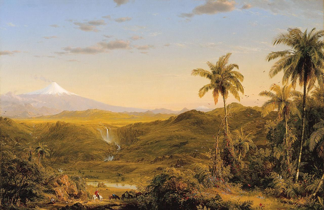 Frederic Edwin Church View of Cotopaxi