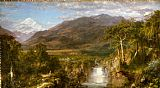 Frederic Edwin Church The Heart of the Andes painting