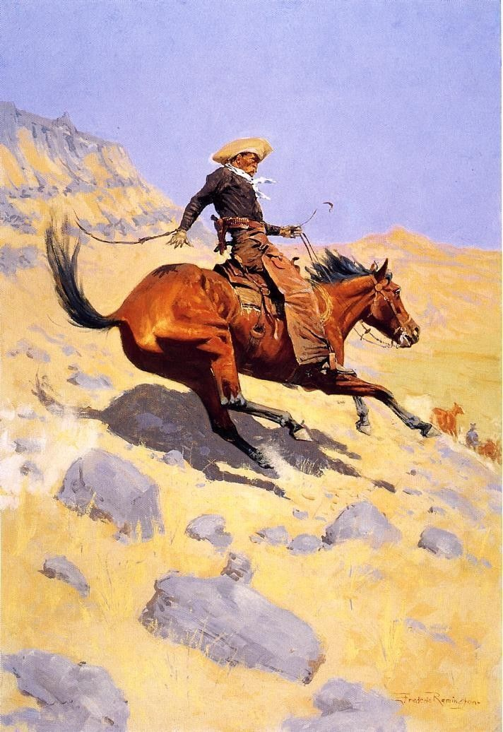 Frederic Remington The Cowboy