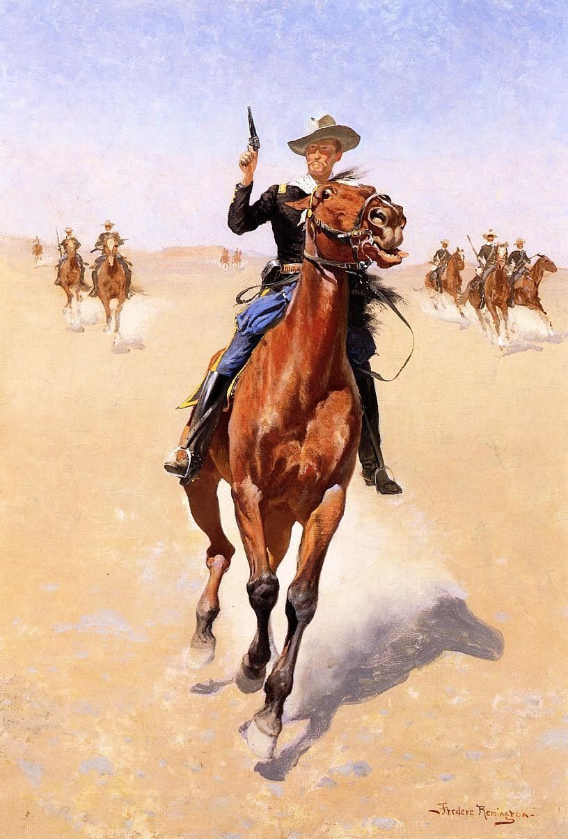Frederic Remington The Trooper