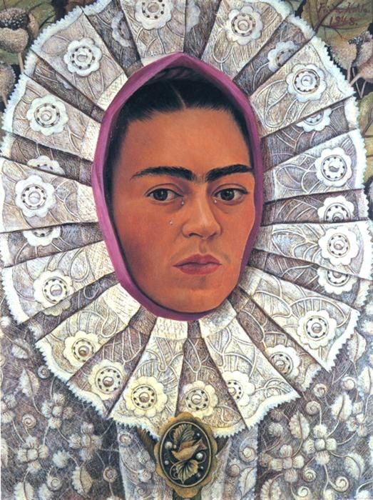 Frida Kahlo FridaKahlo-Self-Portrait-1948