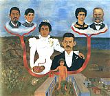 Frida Kahlo Family Tree My Grandparents My Parents and I painting