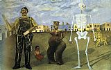 Frida Kahlo Four Inhabitants of Mexico painting