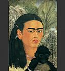 Frida Kahlo Fulang Chang and I painting