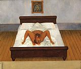Frida Kahlo My Birth painting