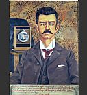 Frida Kahlo Portrait of Don Guillermo Kahlo painting