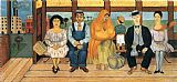 Frida Kahlo The Bus painting