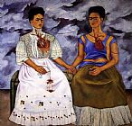Frida Kahlo The Two Fridas painting