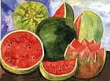 Still Life paintings - Viva la vida by Frida Kahlo