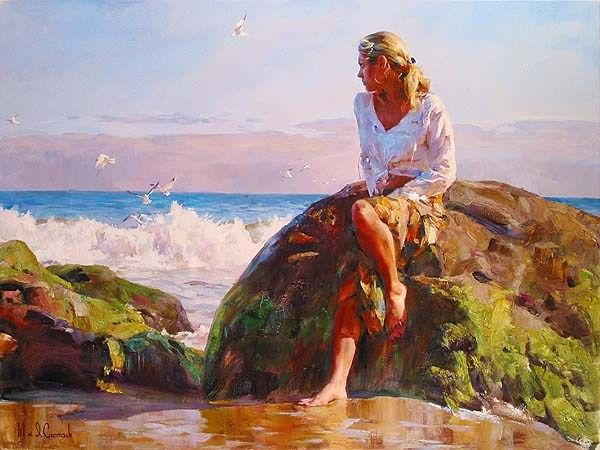 Garmash GAZING AT THE WAVES