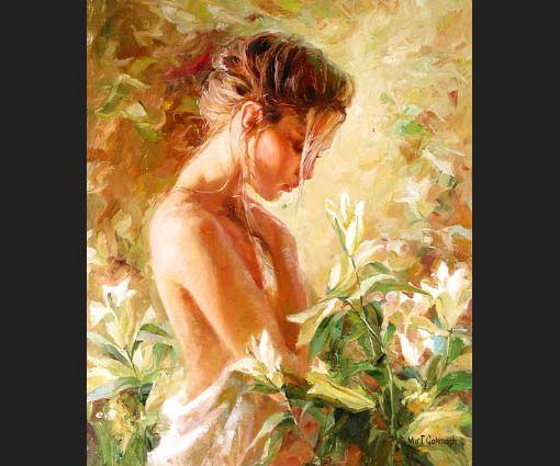 Garmash Lost in Lillies