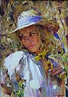 Garmash FLIRTING WITH SUNLIGHT painting