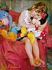 Garmash Hugs for Minnie painting