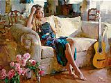 Garmash Music in the Afternoon painting