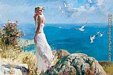 Garmash Sea Breeze painting