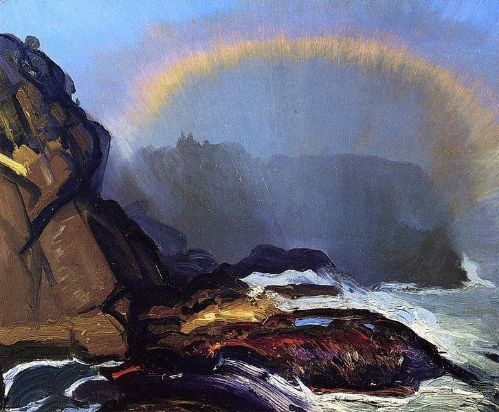 George Bellows Fog Rainbow
