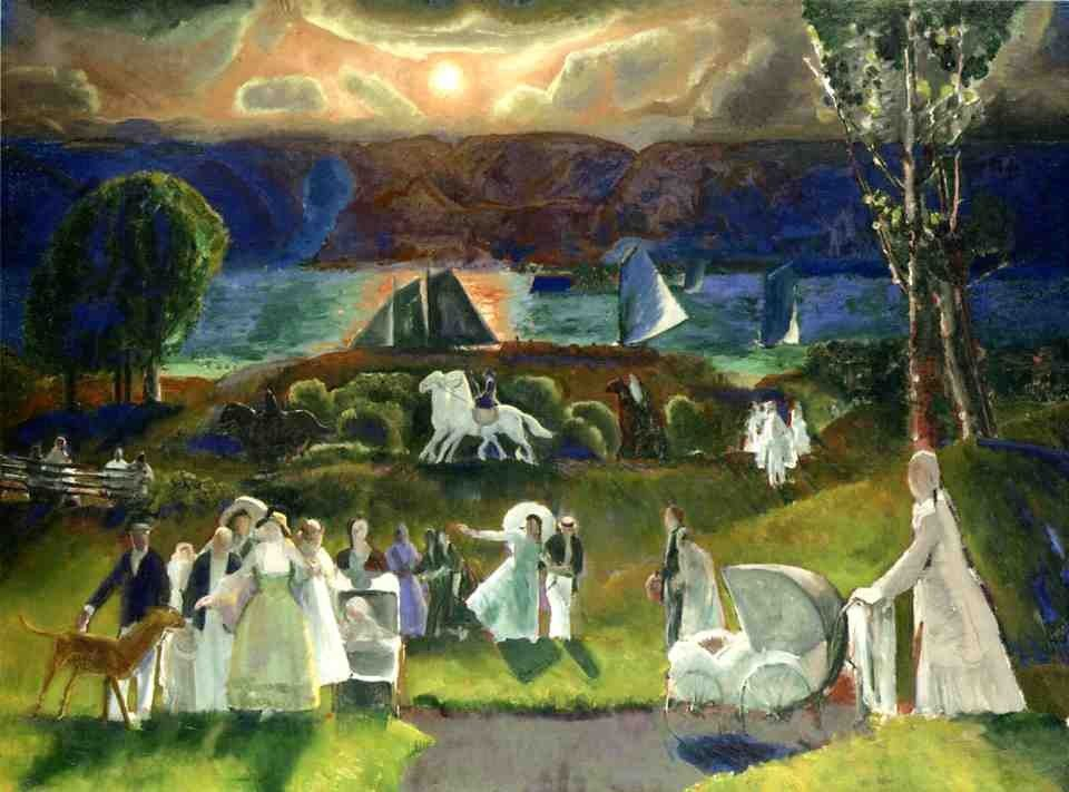 George Bellows Summer Fantasy