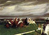 George Bellows Polo at Lakewood painting