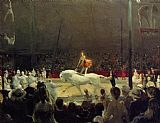 George Bellows The Circus painting