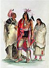 George Catlin North American Indians, circa painting