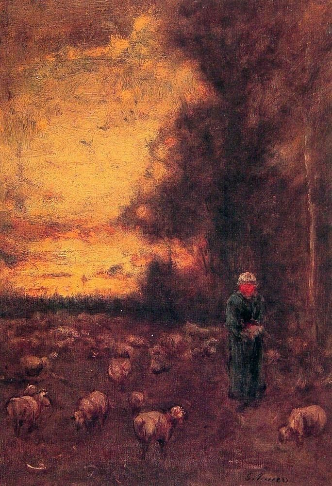 George Inness End of Day