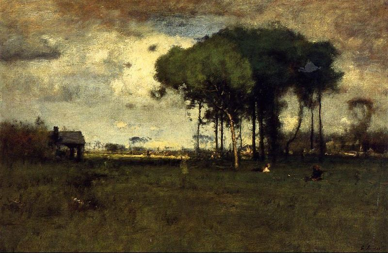 George Inness Georgia Pines Afternoon