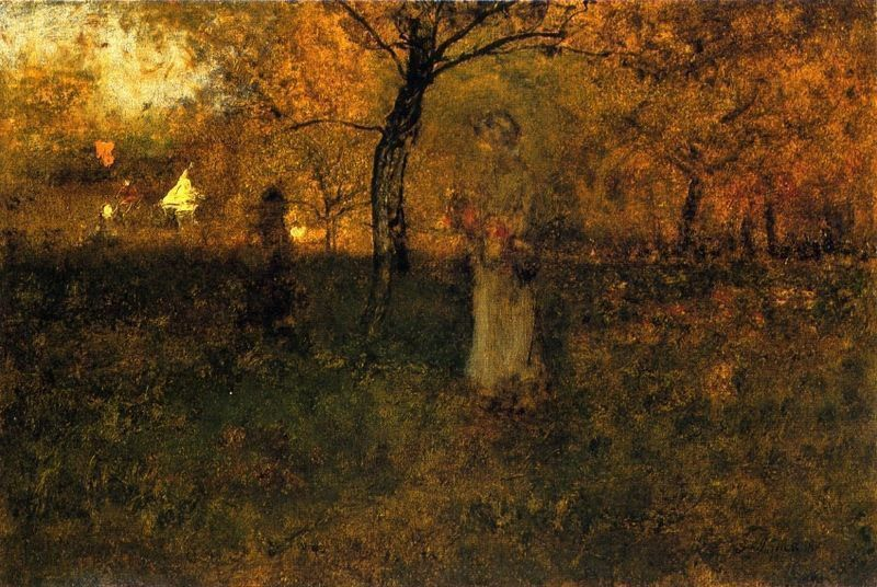 George Inness In the Orchard, Milton