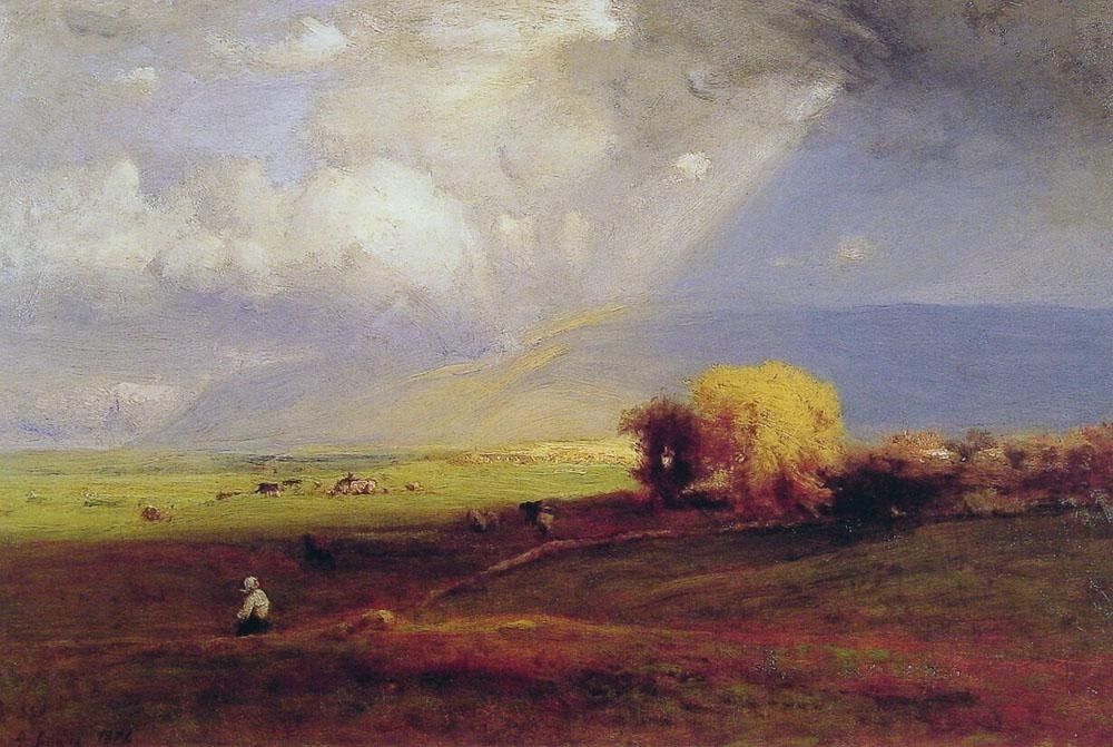 George Inness Passing Clouds