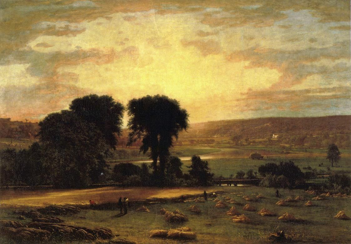 George Inness Peace and Plenty
