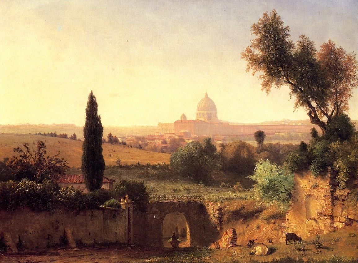 George Inness Rome