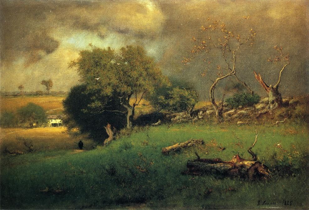 George Inness The Storm